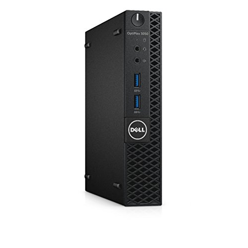 Dell Optiplex 3050 3,4 GHz i3–7100T Micro-Tower Schwarz Mini-PC