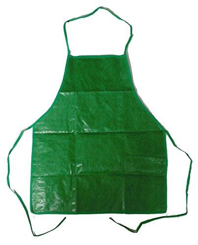 Gartenschürze Schürze grün Kleidungsschutz Tischlerschürze Gartenkleidung