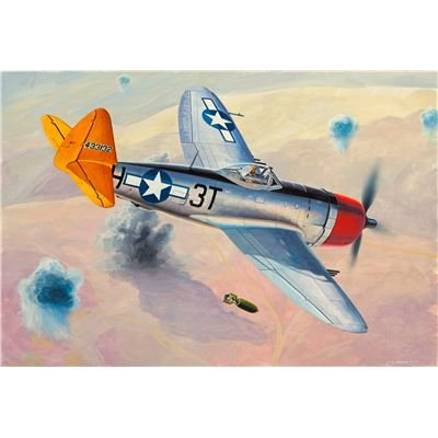 Revell Micro Flügel P-47D Thunderbolt Aircraft Plastic Model Kit (1 Revell Kits 144 Model)