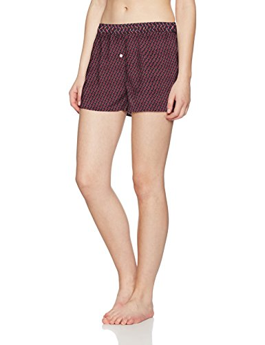 Tommy Hilfiger Boxer, Pantaloni Pigiama Donna, Rosso (Scooter 632), X-Small