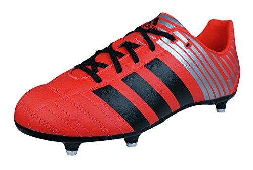 Sg Rugby Stiefel (adidas Regulate Kakari SG Jungen Rugby-Stiefel-Red-33)
