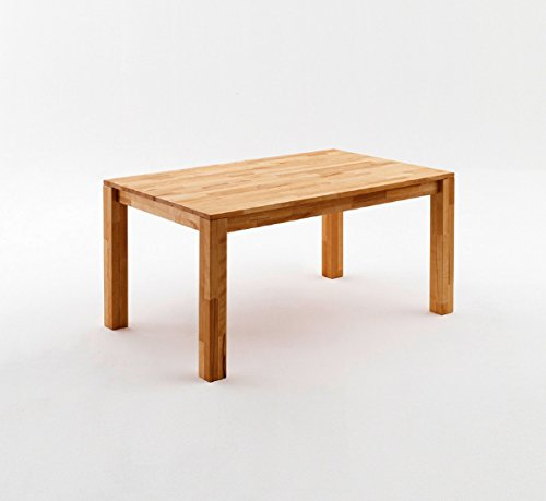 Tisch Esstisch Kernbuche massiv geölt Esszimmertisch 180 x 90 Speisetisch , Größe:160 x 90 cm