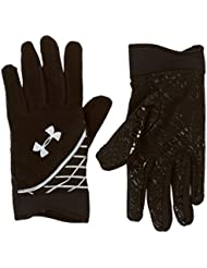 Under Armour - Guantes de running para hombre, tamaño L / XL, color negro