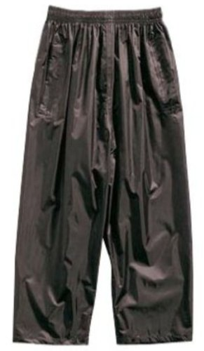 REGATTA CHILDRENS FULLY WATERPROOF TROUSERS - ALL AGES (AGE 11/12, BLACK)