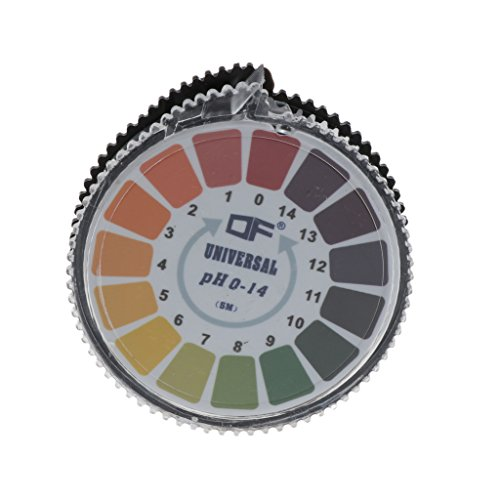 Säure-salbe (Baoyl Runde 5 m 0-14 pH Alkaline Säure Indikator Papier Wasser Urin Speichel Litmus Test)