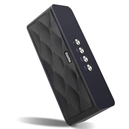 Altavoz Bluetooth Portatiles, Bravoly S9 Altavoces Bluetooth Inalambrico con Micrófono, 12W HD Estéreo y 15H Tiempo de Juego, AUX-IN/Llamadas Manos Libres/TF Ranura