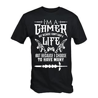I'm a Gamer T Shirt (Black, Small)