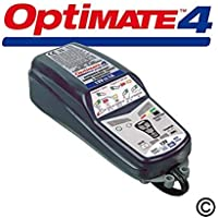 OptiMate 4 Dual Program 12V Motorcycle Automatic Battery Charger Optimiser