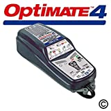 OptiMate 4 Dual Program 12V Motorcycle Automatic Battery Charger Optimiser