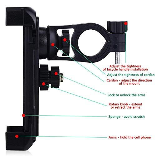 Zoom IMG-1 chereeki porta cellulare bici supporto
