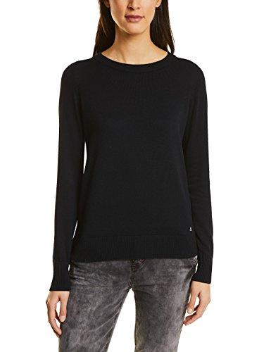 Street One Damen Pullover 300460, Schwarz (Black 10001), 34