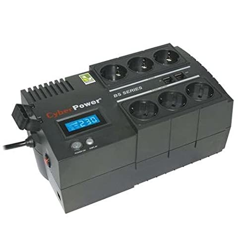 Cyber Power BS450ELCD-FR Onduleur 450 VA Port USB 6 Prise