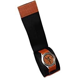 The Hunger Games Movie District 12 Commando Velcro strap Adult Watch - Wear this watch two ways, with Velcro strap or separate on additional thin band