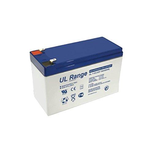 Batteria ricaricabile al piombo 12V 7 Ah Ultracell Euro