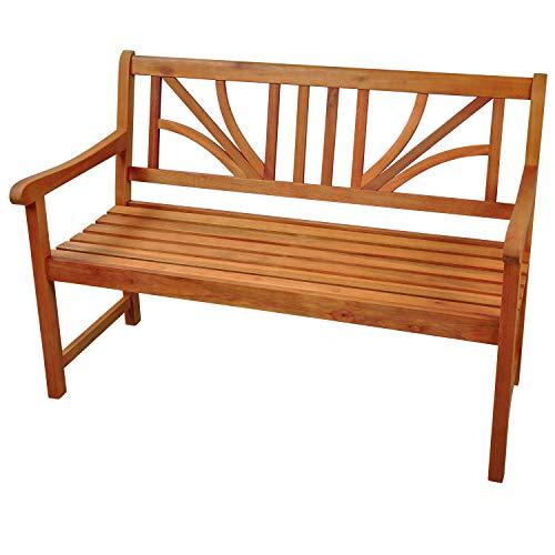 """Indoba Gartenbank, 2-Sitzer """"Lotus"""" – Serie Lotus, braun, 120 x 61 x 88 cm, IND-70103-GB2 - 3"""