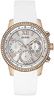 Guess Sport Watch for Women, Silicone, Analog - W0616L1