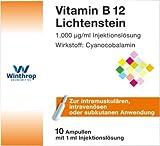 Vitamin B12 Lichtenstein, 10X1 ml Ampullen