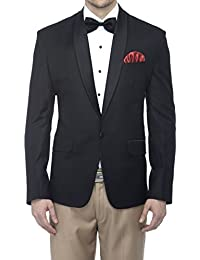 Favoroski Men's Italian Fit Tuxedo Designer Slim Fit Casual Blazer Tuxedo