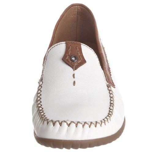 Gabor 26.090, Damen Halbschuh Weiß (Weiß)