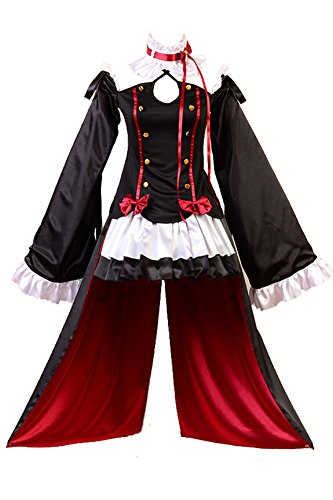 Krul Tepes Kostüm Cosplay - Seraph of The End Vampires Krul Tepes Uniform Cosplay Kostüm XXXL