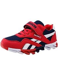 Zapatos De Tenis para Niños Unisex con Velcro Zapatos para Caminar Ocasionales Zapatos Corrientes Ligeros Y Transpirables