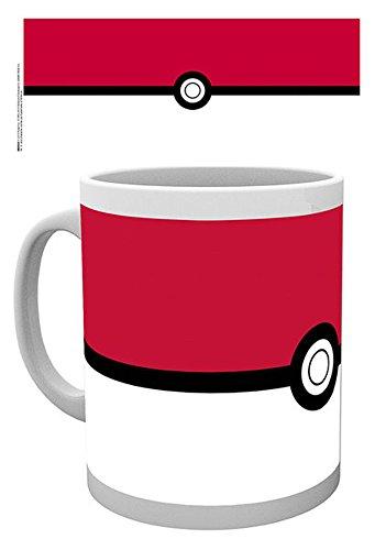 empireposter - Pokemon - Pokémon - Pokeball - Größe (cm), ca. Ø8,5 H9,5 - Lizenz Tassen, NEU -...