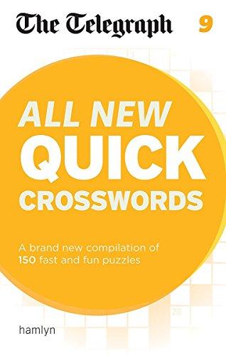 The Telegraph: All New Quick Crosswords 9 (The Telegraph Puzzle Books)