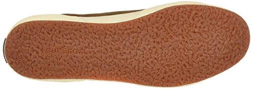 Superga 2750-Sueu, Sneaker a Collo Basso Unisex-Adulto Marrone (Brown Bombay)