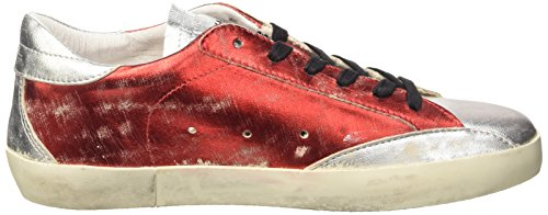 Ishikawa 140, Chaussures Basses Pour Femmes Rouge (foil Scrub Red-foil Sccrub Silver)