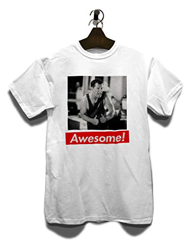 Awesome 25 T-Shirt Weiß