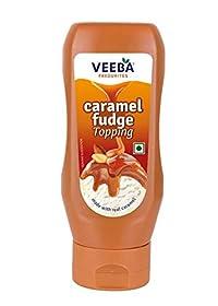 Veeba Caramel Fudge Topping - 380 gm