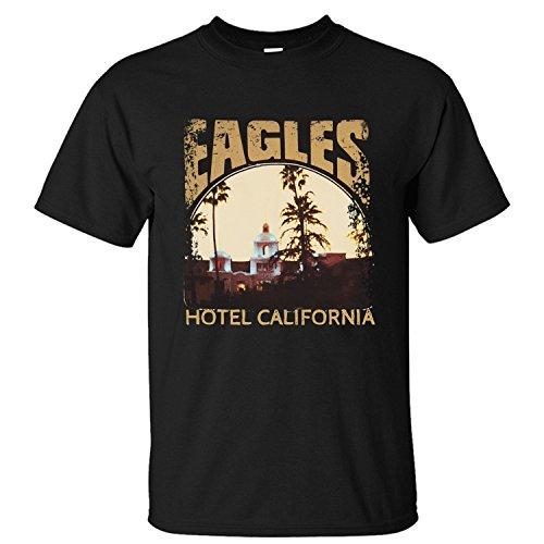 Preisvergleich Produktbild Grossbull Jiuhe Men's Eagles Hotel California T Shirt X-Large