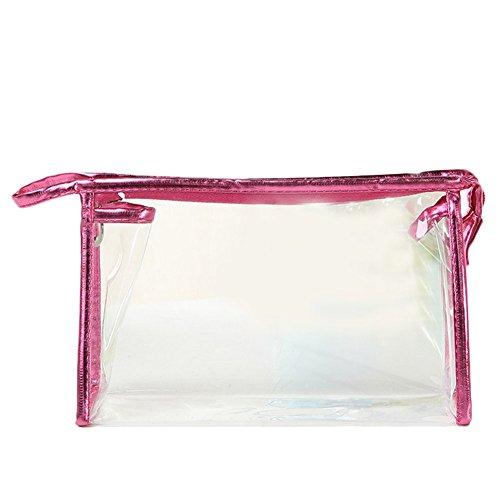 Cdet Trendy Haute Qualité Femmes Sac De Rangement Sac cosmétique de voyage transparent Mignon Sac De Voyage Cosmétique Sac 1pc