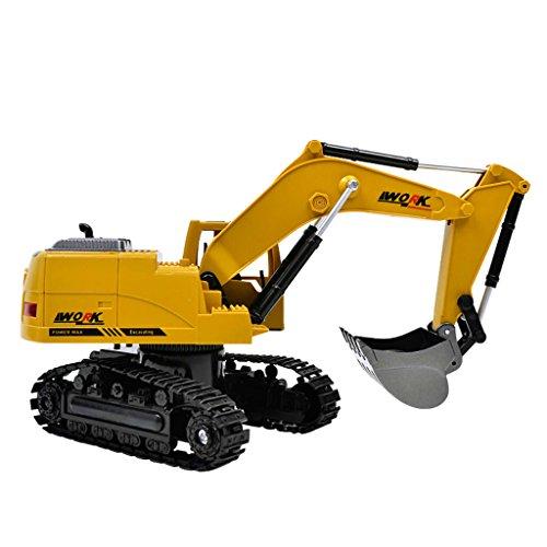 RC Auto kaufen Baufahrzeug Bild 4: Fenteer 1:24 Ferngesteuerter Bagger RC Baufahrzeug Spielzeug mit Sound & Lichter Effekt*