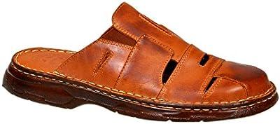 Naturales Sandalias Cuero Búfalo Hombre Zapatos Ortopédica Calzado Modelo-863