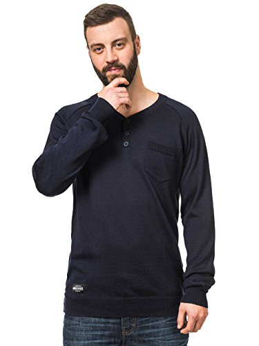 Herren Langarmshirt Horsefeathers Brody T-Shirt Navy
