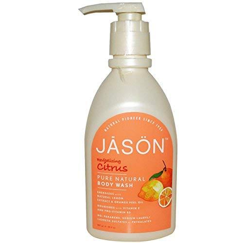 Jason Natural Cosmetics Citrus Dusche Satin K-rper w-scht 30 fl. Unze. 215587 -