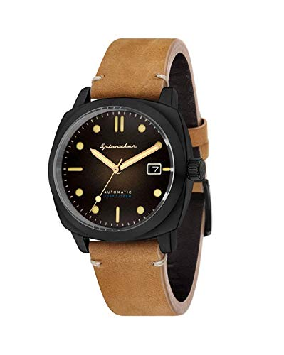 9466acc5eb9 Montre Homme - Spinnaker - Gamme Vintage - Hull - Automatique - 42mm - 10  ATM