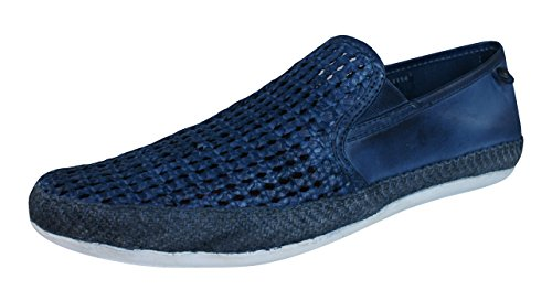 Base London Stage, Mocassins Homme Navy