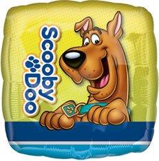 Folienballon Scooby-Doo Square unbefüllt (Scooby-doo-ballons)