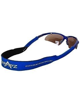 Wrapz azul flotante de tracción de neopreno gafas de correa de fijación de la