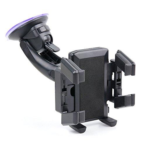 DURAGADGET Premium Autohalterung für Lüftung und Windschutzscheibe für Oukitel U7 Plus | Cagabi One HD 5