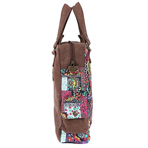Chang Spent Mme sac à bandoulière en toile de marée sac Messenger éolienne nationale (pour envoyer un petit miroir et bourse) b1352a