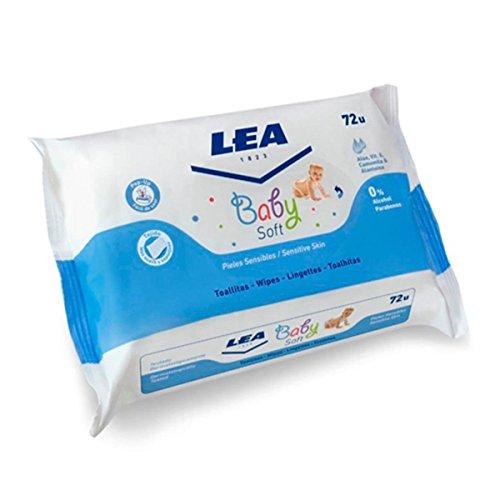 Lea Baby Soft Toallitas Para Pieles Sensibles 72 Unidades (Baby Soft Parfüm)
