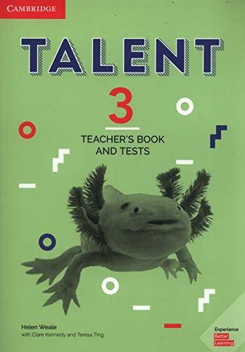 Talent international. Level 3. Teachers's book and tests. Per le Scuole superiori