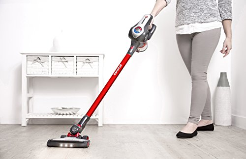 Hoover DS22GR Discovery Lithium 2 in 1 Cordless Stick Vacuum Cleaner, 0.7 Litre, Red