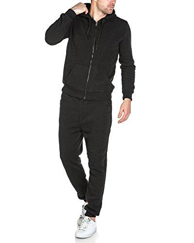 BLZ jeans - Schwarzer Mann zusammen molletoné Joggen Schwarz