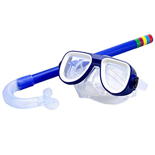 Lankater Kinder Schnorchel-Set Dry Top Schnorchel Mit Schutzbrillen Leicht Einstellbare Schnorcheln Werkzeuge Junior Schnorchelausrüstung Für Jungen Und Mädchen (Junior-werkzeug-set)