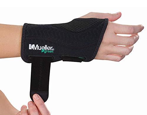 Mueller Greenline Bandage zur Handstabilisierung 86271, S/M rechts, schwarz