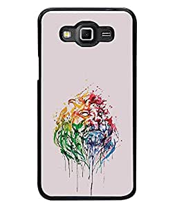 FUSON Designer Back Case Cover for Samsung Galaxy Grand Max G720 (Wall Paints Poster Paintis oil Paints)